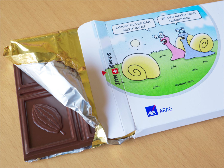 Schokoladen-Mailing von Schoggi-Mail